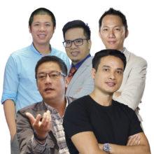 Các giảng viên khóa huấn luyện PMM