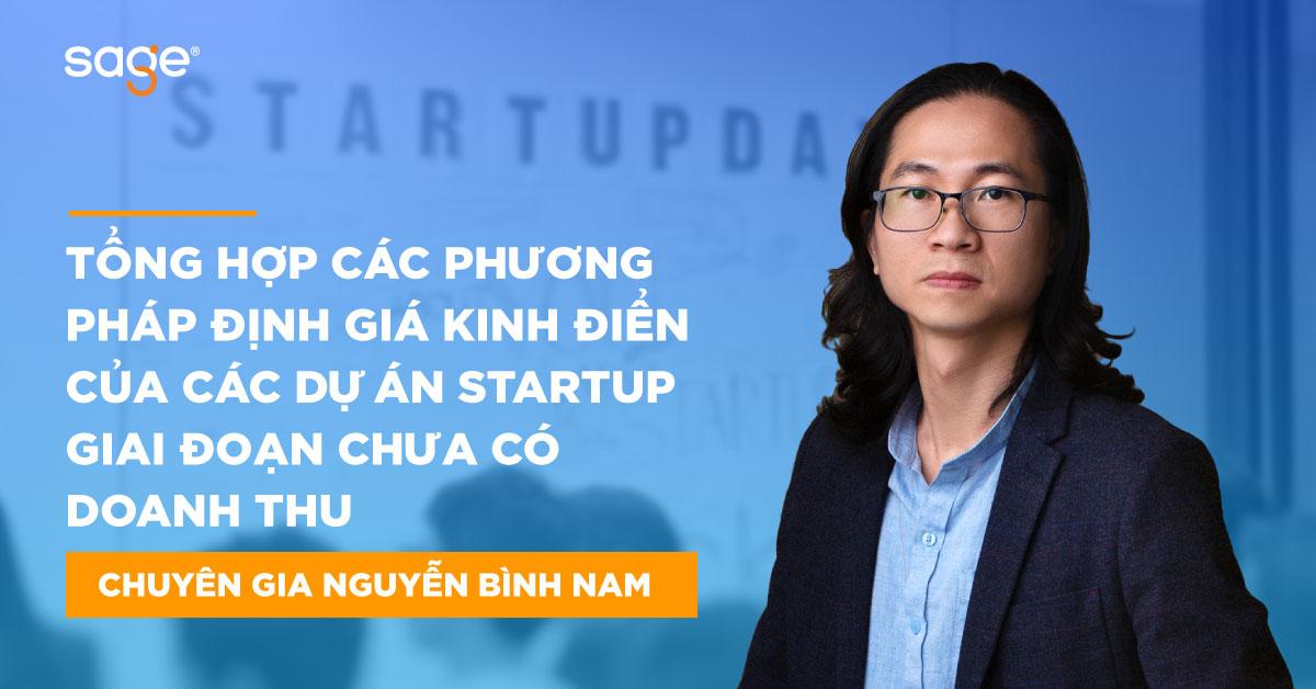 Tổng hợp các phương pháp định giá kinh điển của các dự án Startup giai đoạn chưa có doanh thu - 01