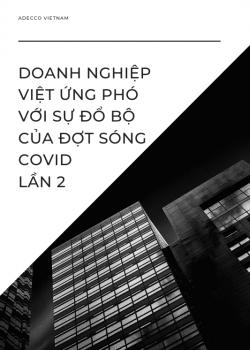 Doanh nghiệp Việt ứng phó với sự đổ bộ của đợt sóng Covid lần 2